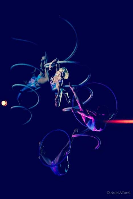 spirale aérienne des farfadais